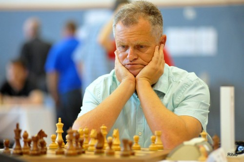 GM Alexander Khuzman (2589) is top seeded in the Open Tournament