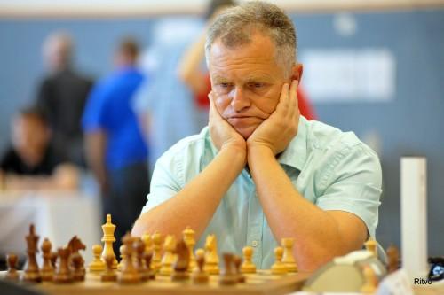 GM Alexander Khuzman (2589) is top seeded in the Open Tournament