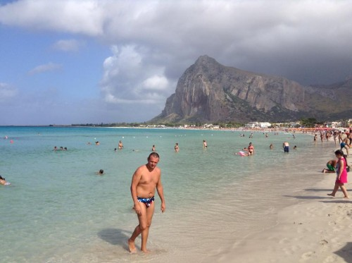 San Vito lo Capo beach (Photo by Matthew Peat)