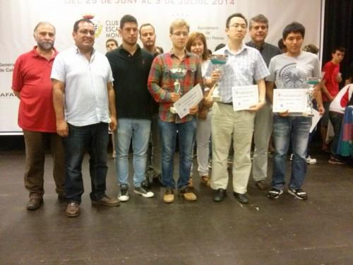 Winners and organizers