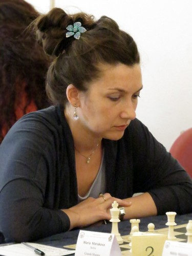 WGM Maria Manakova (photo by Alberto Gueci)