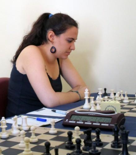 WGM Amalia Aranaz Murillo (photo by Gianni Gigante)