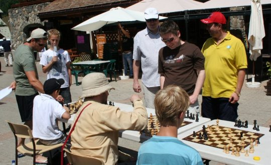 Chess in Vaujany
