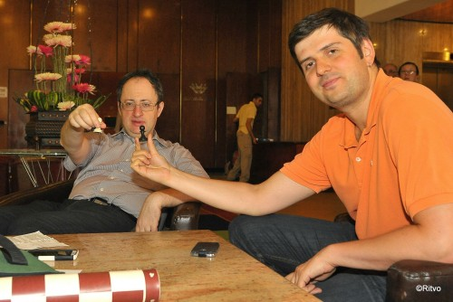 Drawing - Gelfand will begin with white