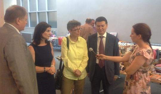 Angelina Vukovic, President of Montenegro Chess Federation