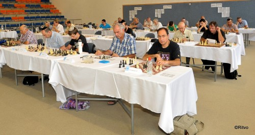 Finals of Israel chess problem solving tournament