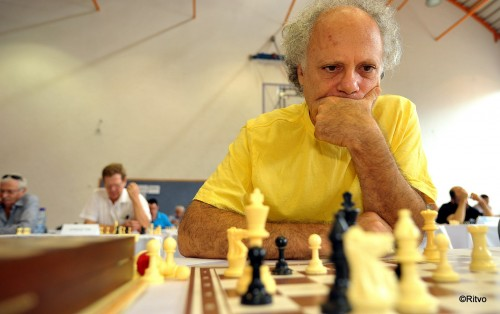 GM Ofer Comay - former world champion in chess problem solving