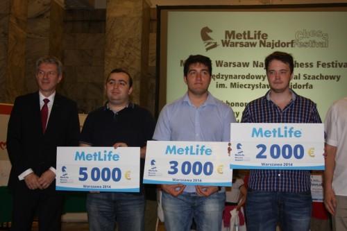 GM Petrosian, GM Durarbayli, GM Shimanov