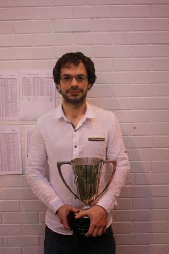 FM Alan Tate is second time Scottish champion