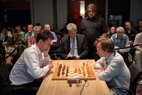 GM Loek Van Wely outplayed his opponent GM Sergey Tiviakov in two tie-break games to claim the title