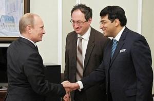 Putin, Gelfand, Anand