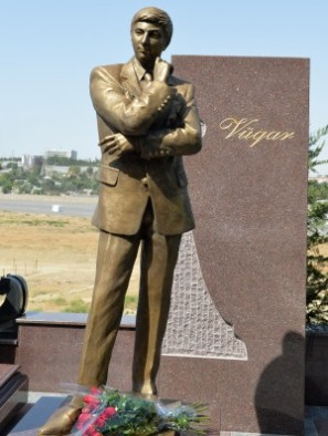 Vugar Gashimov monument