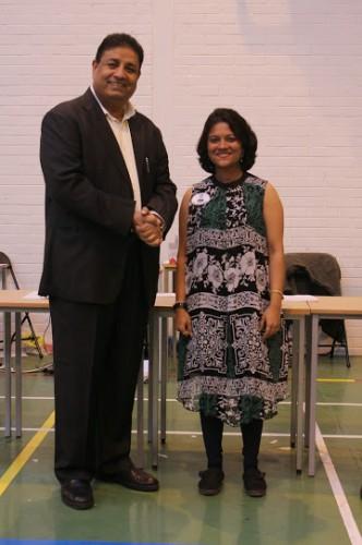 WGM Bhakti Kulkarni finished first among women