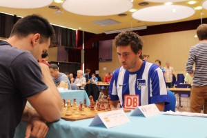 GM Sebastien Maze in action