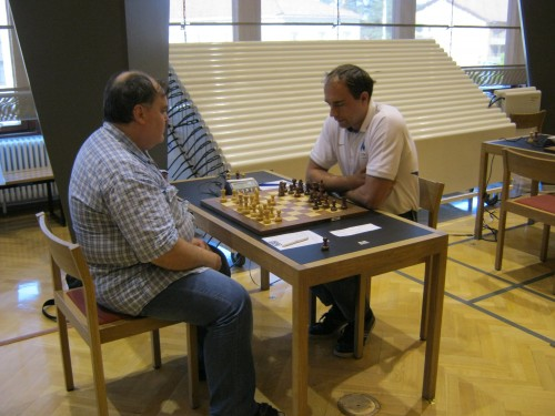 The game GM Gleizerov - GM Kulaots finished in a draw