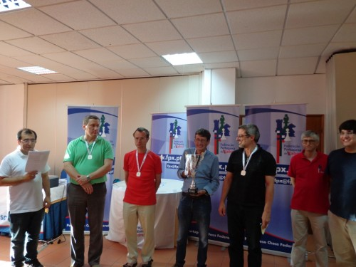 The strong team of Gaia Chess Academy takes silver medals