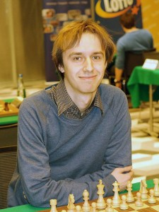 Top seed GM Jacek Tomczak is one of the current leaders