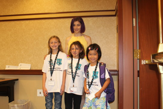 Natasha Mertens, Gloria Galassi, Joy Chu