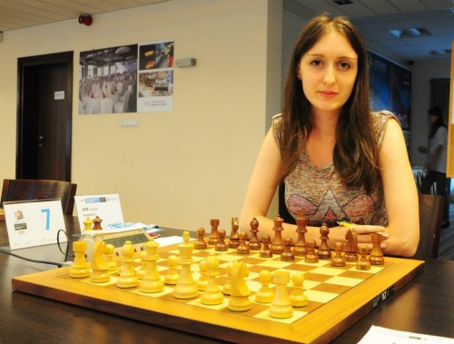 WIM Jovana Eric is the only Serbian player in the Women's Section