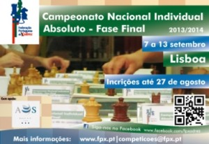 2014 Chess Championship of Portugal