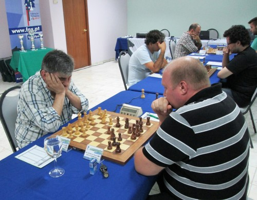 FM Viktor Ulyanovskyy defeated IM Fernando Silva in the third round of the competition