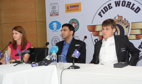 Carlsen - Anand World Championship Match