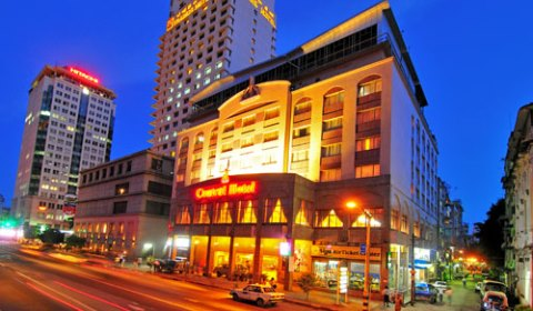 Central Hotel, Bogyoke Aung San Road, Yangon