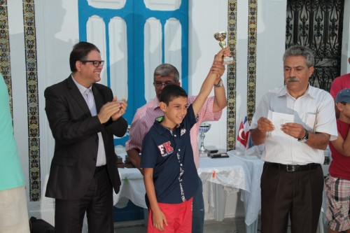 Jihed Majdoub (Tunisia) is Youth champion