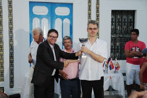 IM Bernd Kohlweyer took the trophy among Open A +50 Seniors