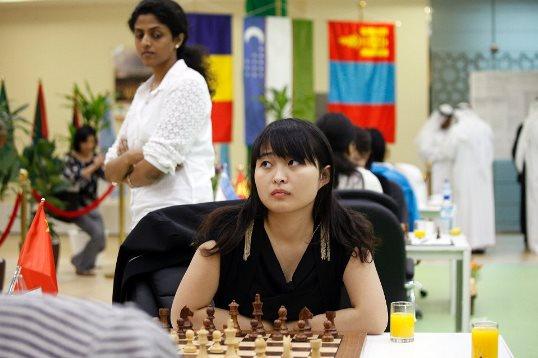 Harika Dronavalli and Ju Wenjun
