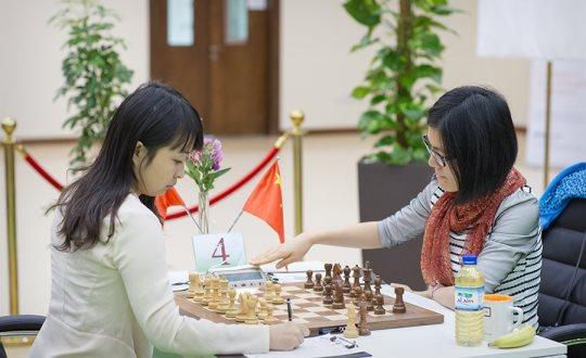 Ju Wenjun - Hou Yifan