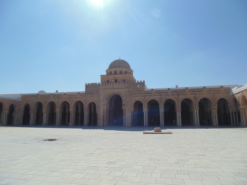 The Mosque of Uqba is situated in the UNESCO World Heritage town of Kairouan