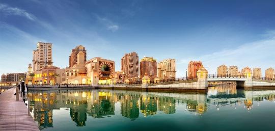 Porto Arabia in the Pearl