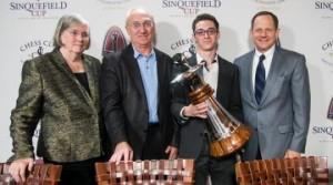Sinquefield Cup 2014 winner Fabiano Caruana