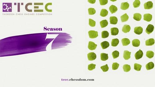 The new TCEC Season 7 graphic by Santiago Méndez