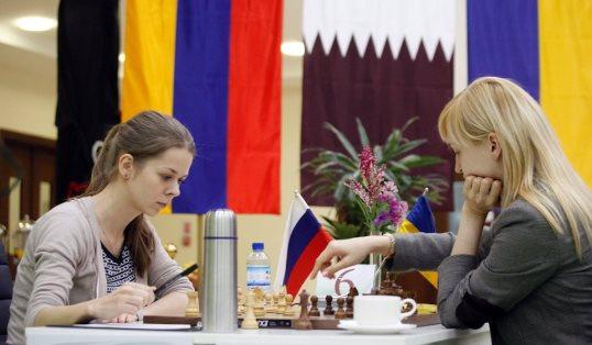 Tatiana Kosintseva - Anna Ushenina