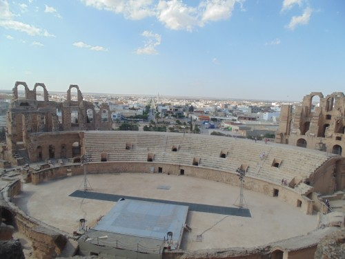 The Amphitheater in El Jem