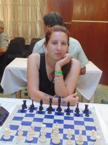 WIM Klara Varga (Hungary) is one of the female players in the Masters Tournamet