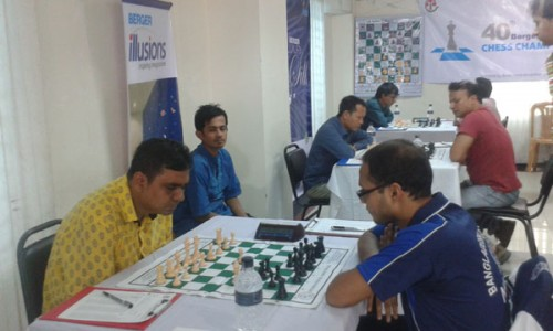 GM Rahman Ziaur outplayed IM Minhazuddin Ahmed in the sixth round to maintain his victorious string (5 victories in a row)