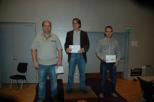 GM Turov, GM Werle, GM Solodovnichenko (photo credit: Oslo Chess Tournament)