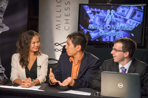 Arianne Caoili, Wesley So and Robert Hess (photo credit Billy Johnson)