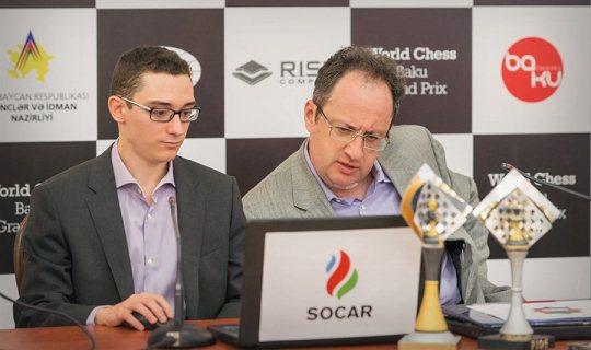 Fabiano Caruana and Boris Gelfand