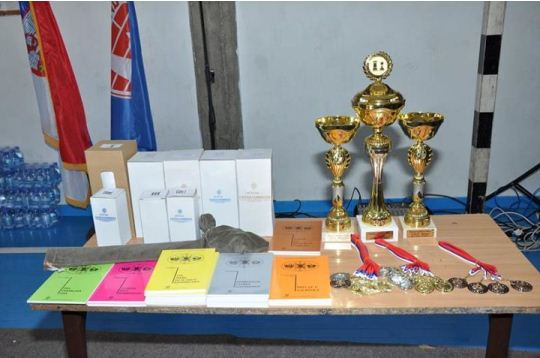 Trophies, medals, books and gifts