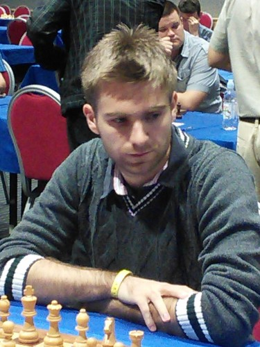 GM Davorin Kuljasevic was the best on fifth board