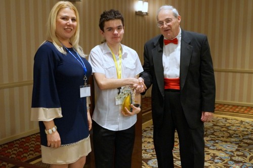 Illya Nyzhnyk and Susan Polgar