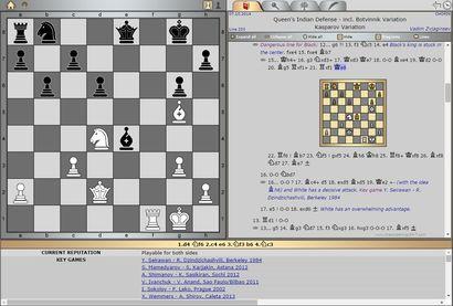 [October 7, 2014] Updated Opening Line 203 by GM Vadim Zvjaginsev Queen's Indian Defense: Kasparov Variation (incl. Botvinnik Variation)