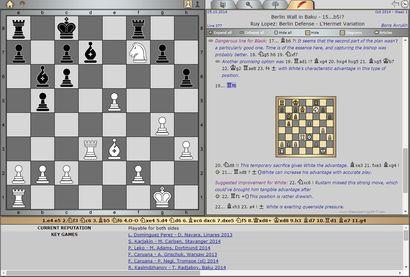 [October 5, 2014] Pick of the Week by GM Boris Avrukh  Ruy Lopez: Berlin Defense, L'Hermet Variation [Key game: R. Kasimdzhanov – T. Radjabov, Baku 2014]