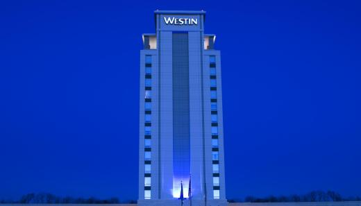 Westin North Shore Hotel in Wheeling