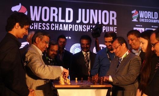 World Junior Chess Championship 2014 begins in Pune