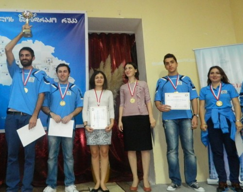 "Chess Club ""Nona"" (photo credit: Georgian Chess Federation)"